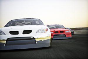 Motor sports racing